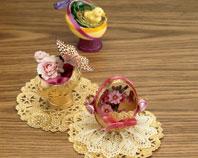 Crearea unei decoraţiuni din coajă de ou-1399